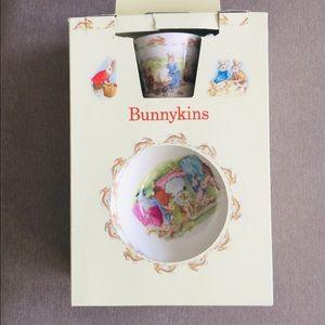 Royal Doulton Bunnykins 3 pc children's set